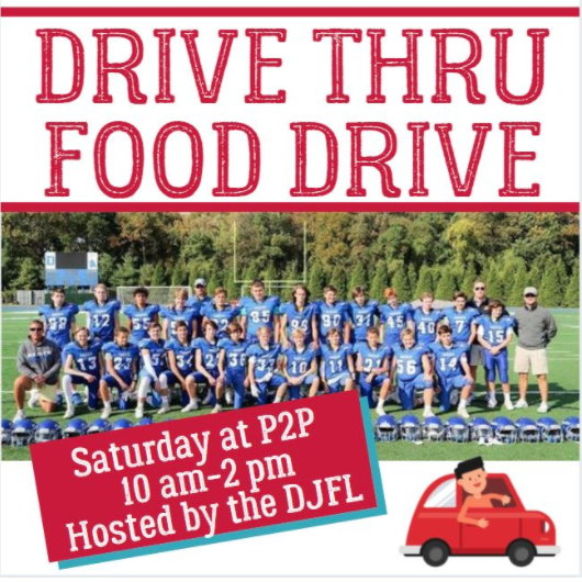 Drive-Thru Food Drive P2P Person-to-Person