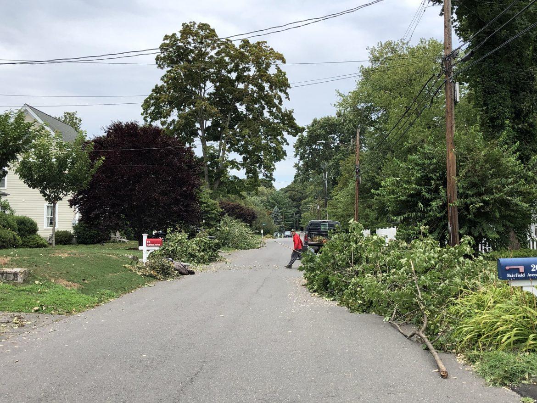 Post Storm Isaias 2020 Fairfield Ave