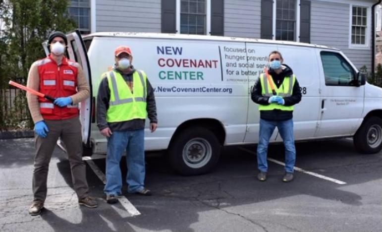 New Covenant Center van