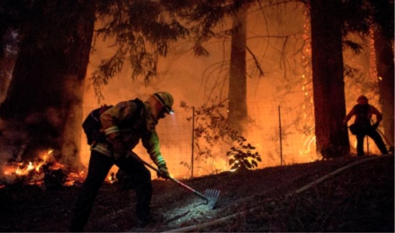 Wildfire California 2020
