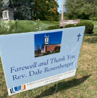 Farewell and thank you Rev. Dale Roseberger 2020