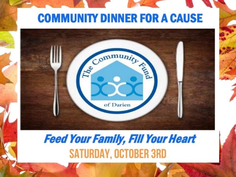 Community Dinner for a Cause Community Fund of Darien Fall 2020