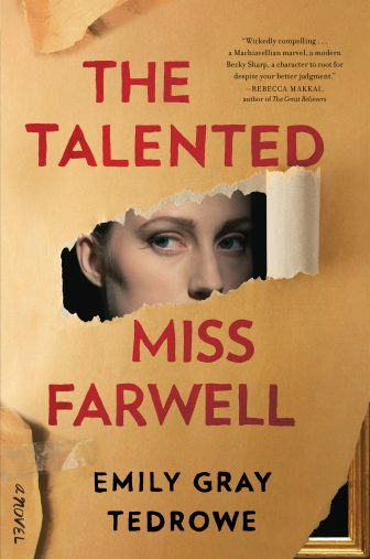 The Talented Miss Farewell book cover publicity