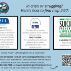 Community Fund of Darien COVID-19 Coronavirus Mental Health