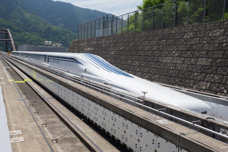 SCMAGLEV at Yamanashi Maglev Line Facility in Japan