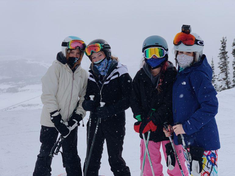 Ski with Masks Saoirse Wellenius