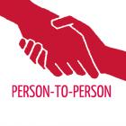 P2P logo Person-to-Person logo