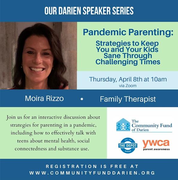 Our Darien Pandemic Parenting Moira Rizzo