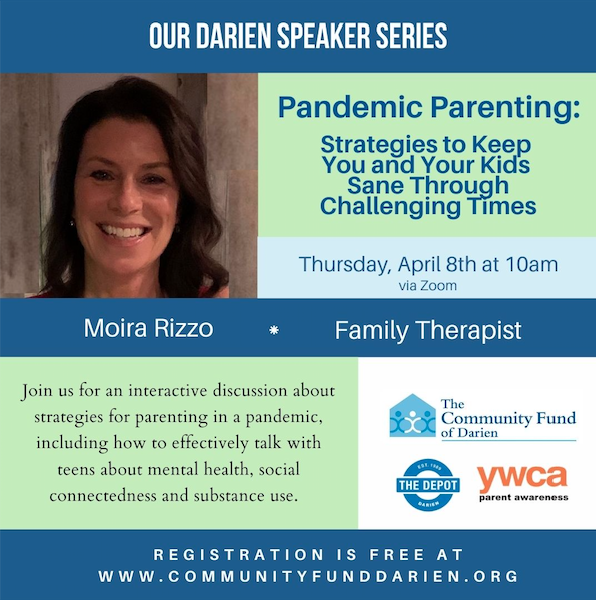 Moira Rizzo Pandemic Parenting event