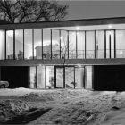 Modernist House in Wintertime