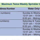 Aquarion 2021 water irrigation schedule