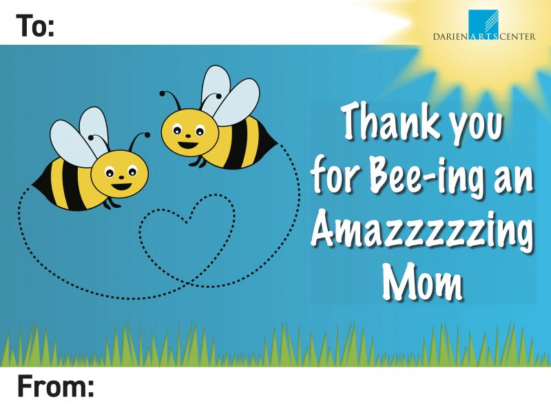 Mother's Day sign 2021 Thank You for Bee-ing an Amazzzzing Mom