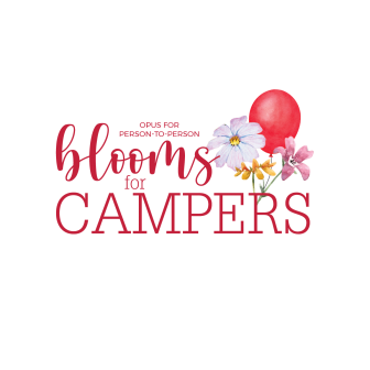 Blooms for Campers 2021 logo