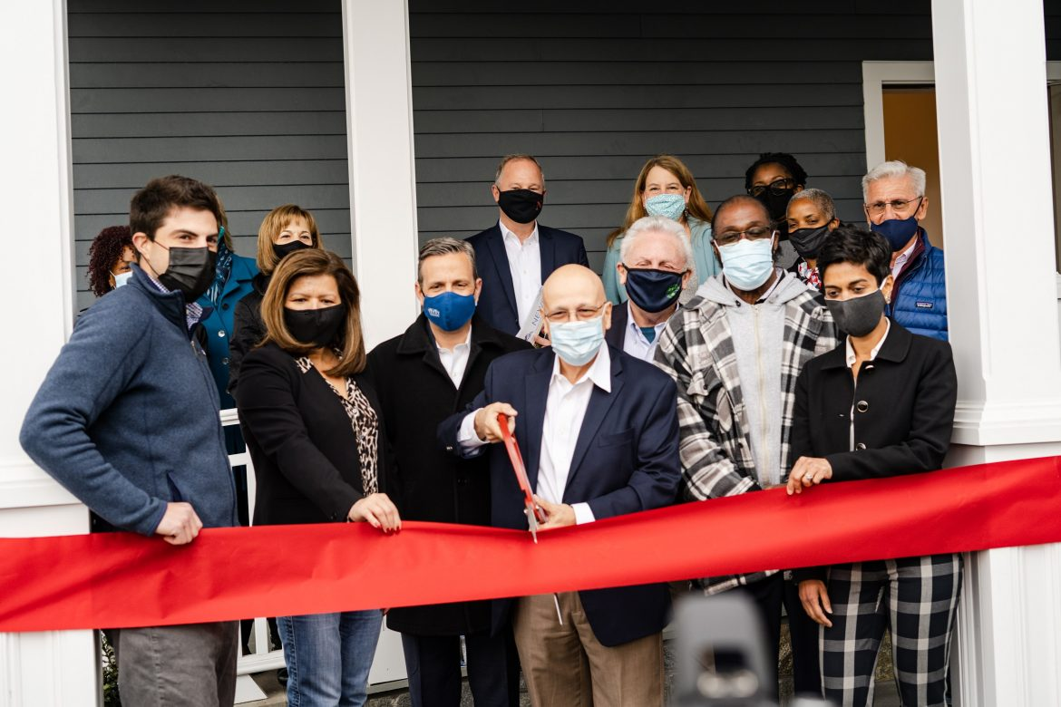 Ribbon Cutting for Parkview North run by Pacific House