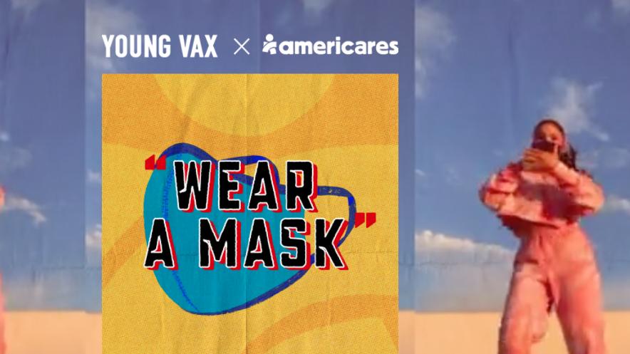 Desi Saends Wear a Mask Americares