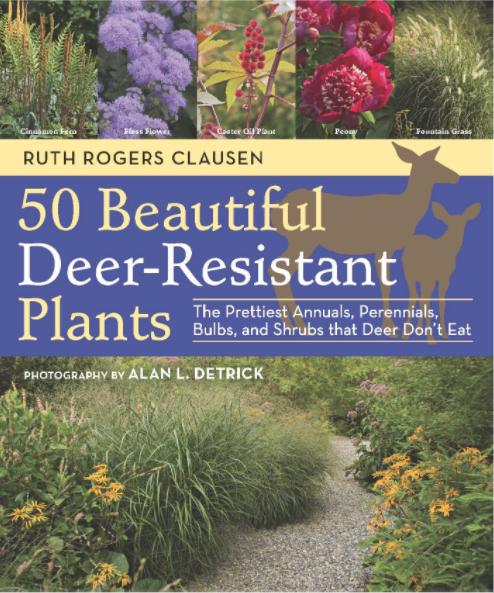 book cover 50 Beautiful Deer-Resistant Plants