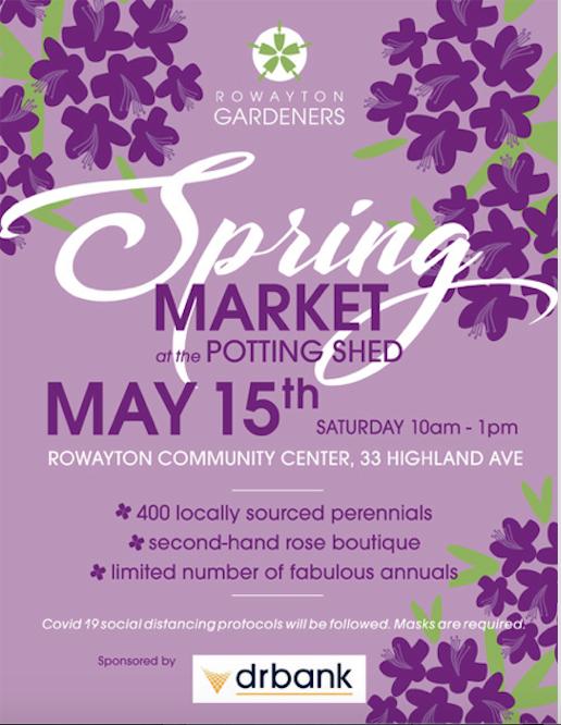 Rowayton Gardeners Spring Market 2021