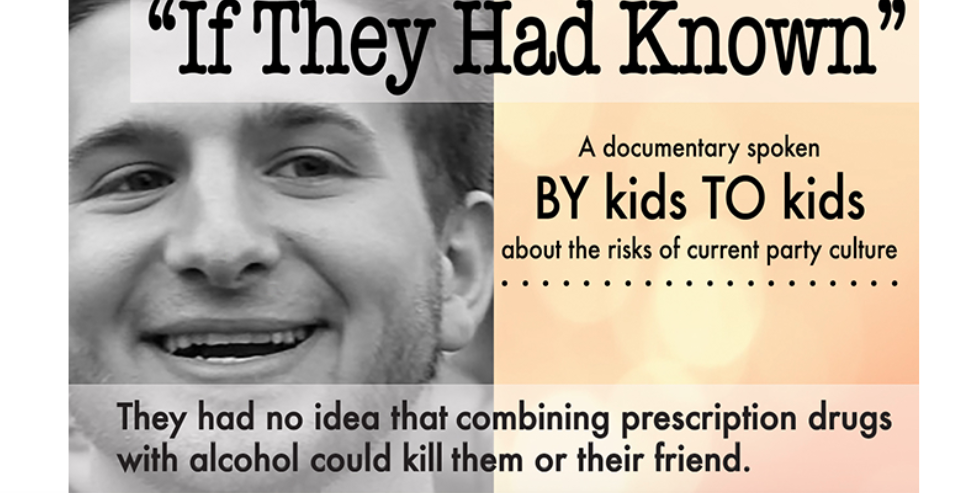 If They Had Known publicity wide image documentary alcohol teens