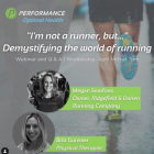 Demystifying the World of Running webinar publicity image