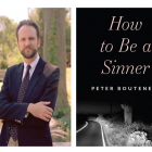 Promotional author pic Peter Bouteneff cover How to Be a Sinner Grace Farms event