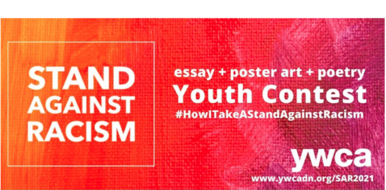 Stand Against Racism Youth Contest image YWCA Darien/Norwalk 2021