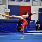 Jacquelyn Coppola Darien YMCA gymnastics