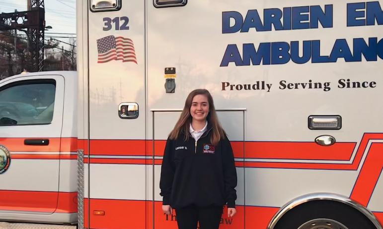 Lindsay Smith Darien EMS-Post 53