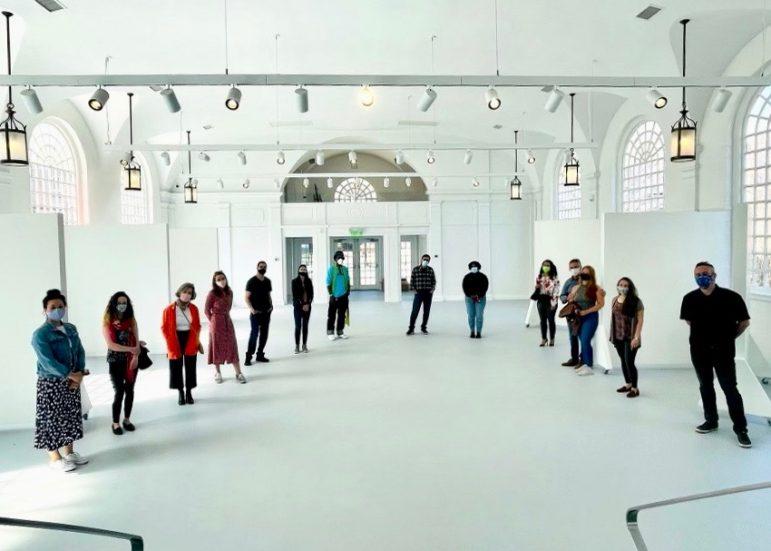 The Norwalk Art Space interior 2021