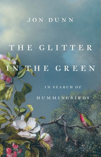 The Glitter in the Green book cover publicity image