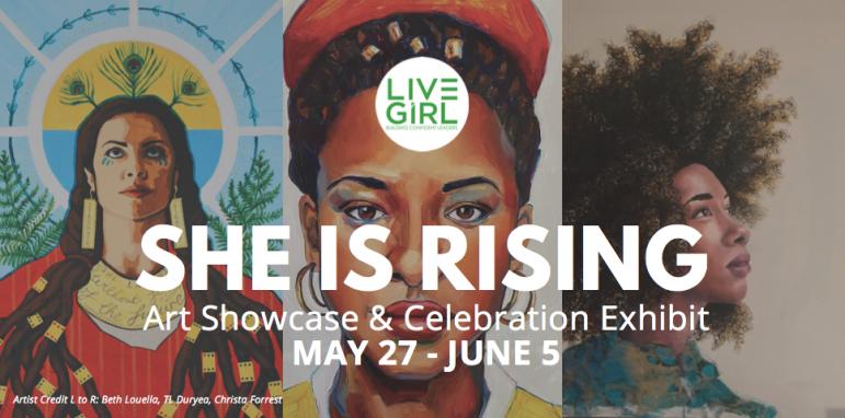 LiveGirl event poster May 2021
