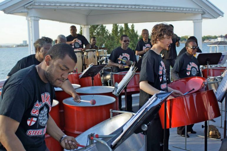 St. Lukes Steel Pan Band at The Norwalk Art Space