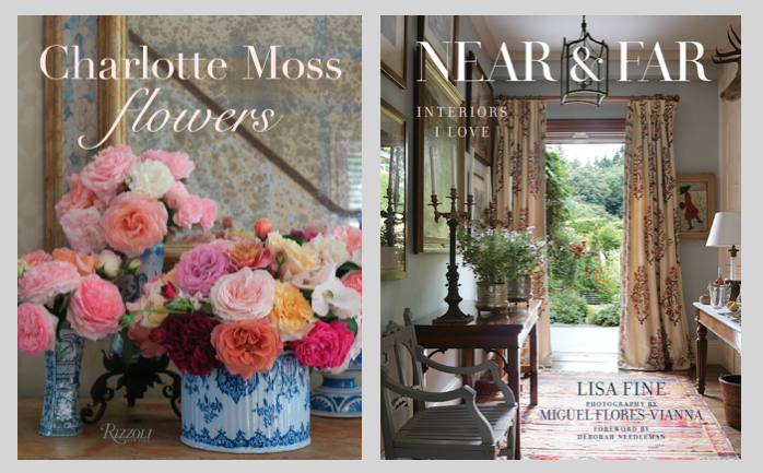 Book Covers Charlotte Moss and Lisa Fine