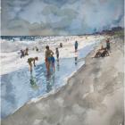 "Derek Buckner, ""Beach Day #1"""