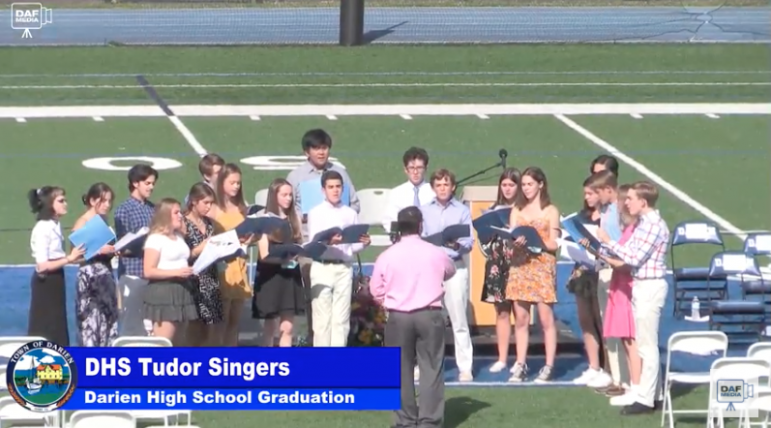 Darien High School graduation 2021