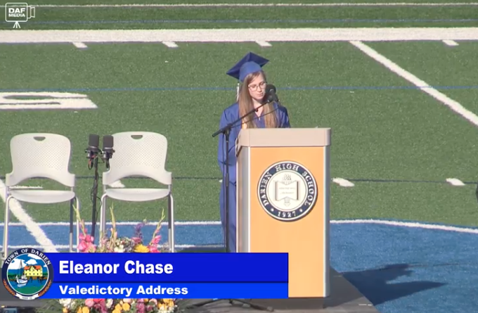 DHS 2021 Valedictorian Eleanor Chase
