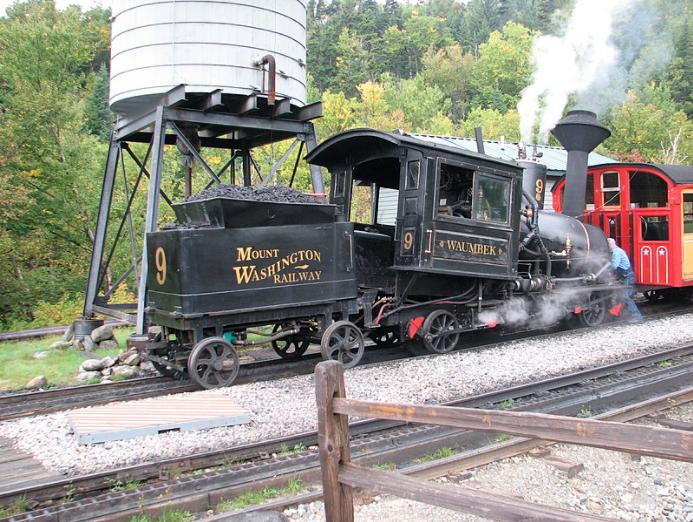 Waumbek Mount Washington Cog Railway