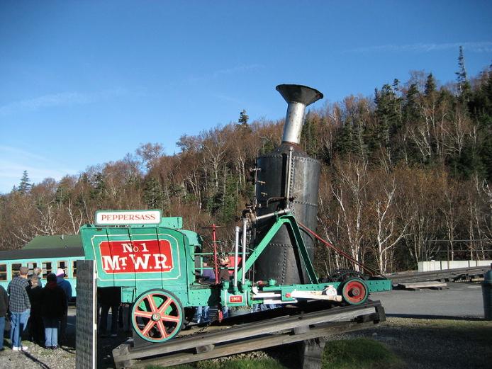 Peppersass locomotive Mount Washington Railway