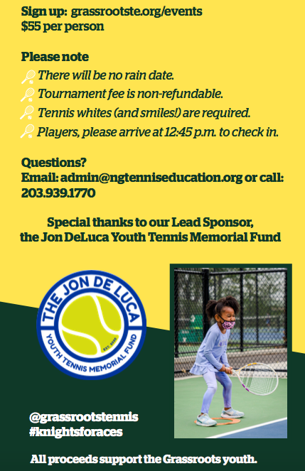 Knights for Aces Norwalk Grassroots Tennis 2021