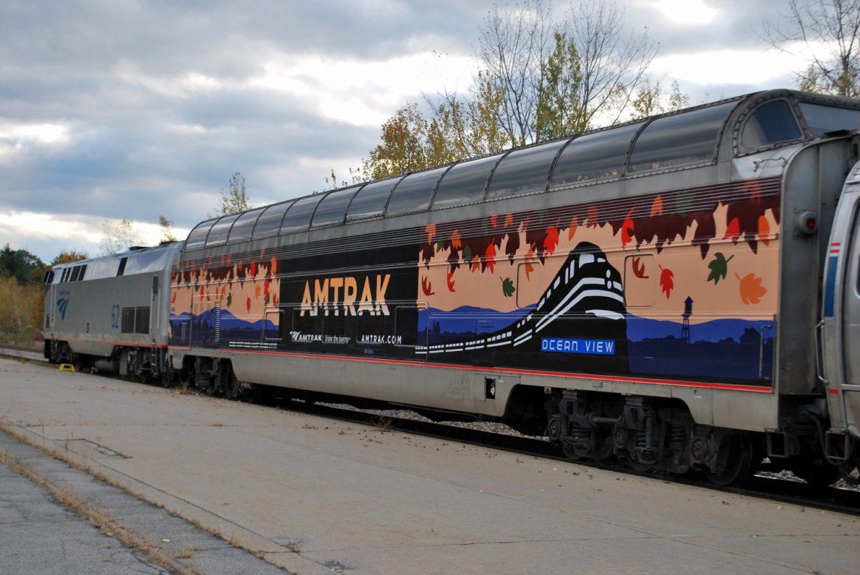 Adironack Amtrack Dome Car