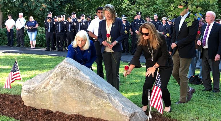 9/11 Sept. 11 monument Darien