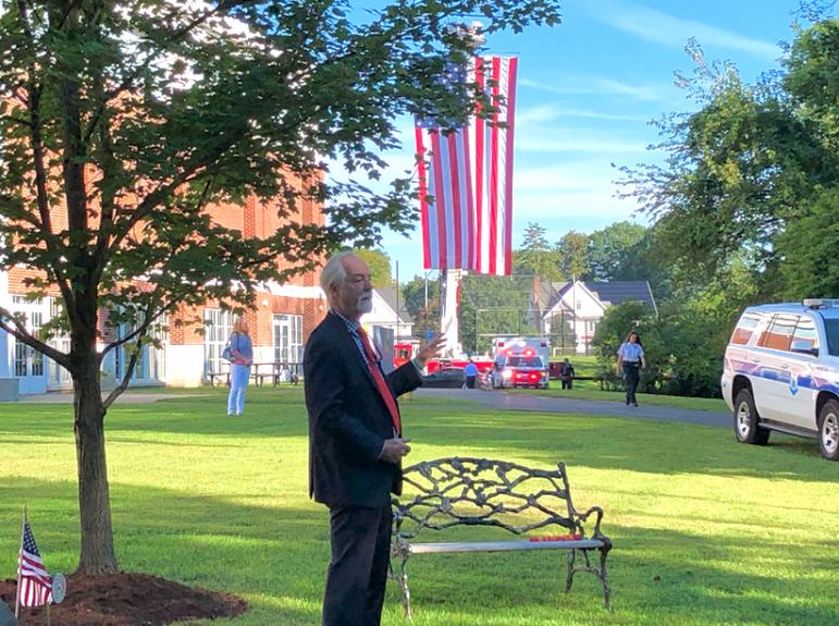 Terry Gaffney 9/11 Ceremony