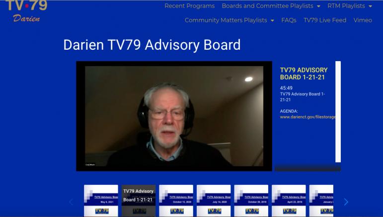 DarienTV79.com Web page