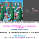 Art Darien poster Grove St Plaza 2021
