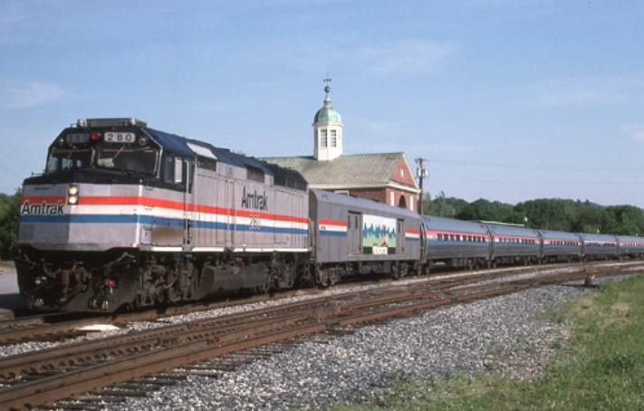 The Vermonter Train