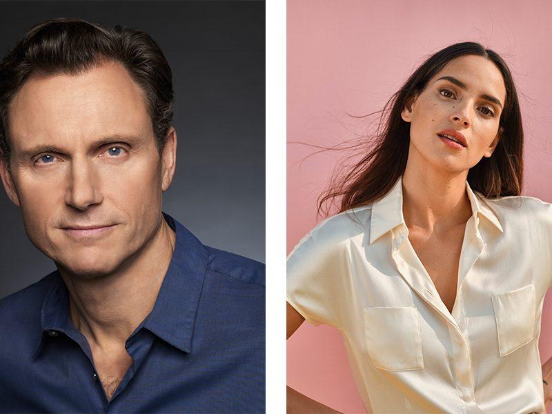 Tony Goldwyn and Adria Arjona Americares Benefit 2021