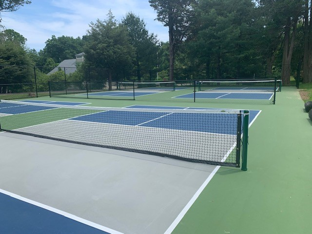 Pickleball Courts at Cherry Lawn Park
